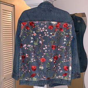 Express Boyfriend Denim Jacket